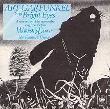 Art garfunkel bright eyes cbs 5 s