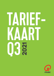 Qmusic Tariefkaart Q3