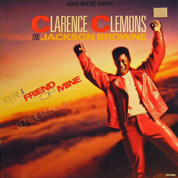 Clarence clemons and jackson browne youre a friend of mine11