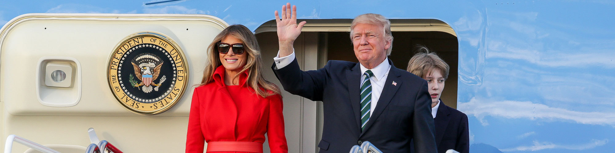 Trump melania header