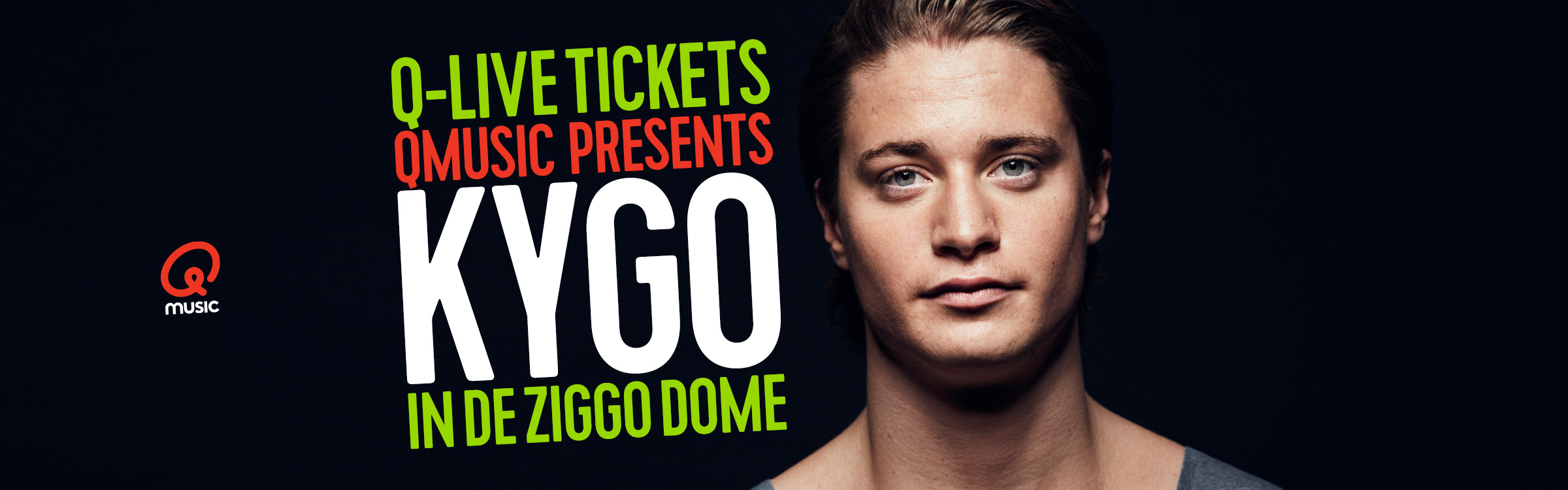 Qmusic actionheader kygo