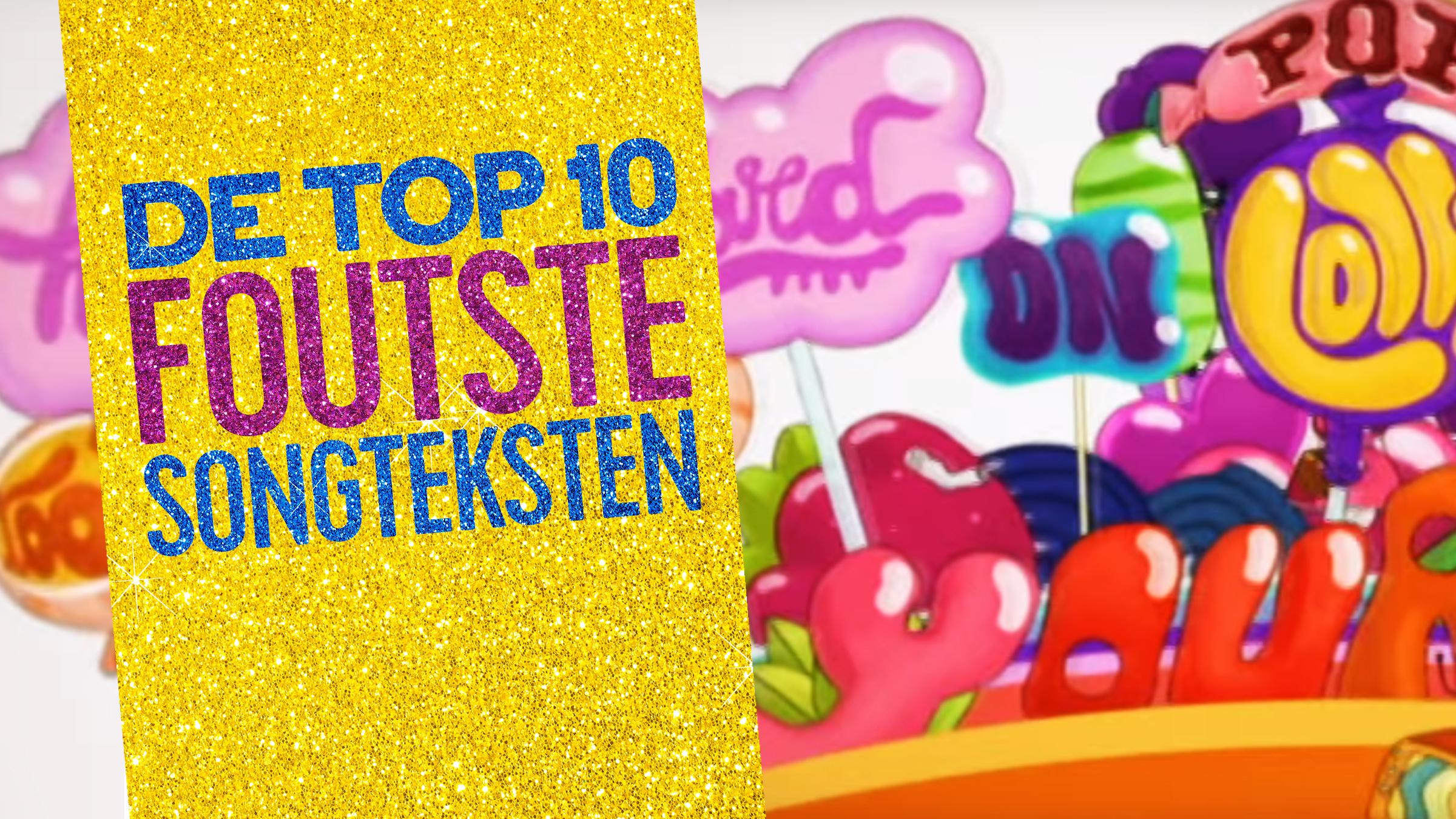 Qmusic top10foutsongteksten teaser