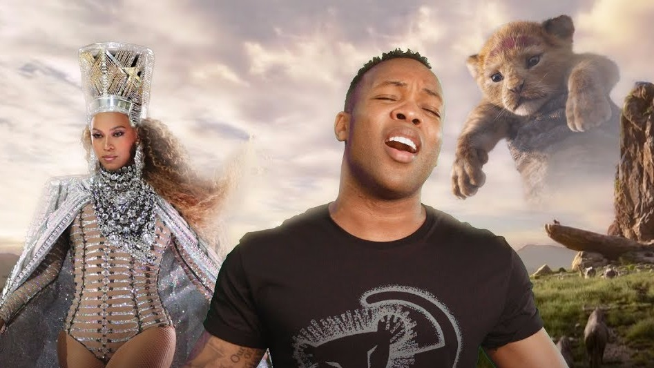 Beyonce lion king home