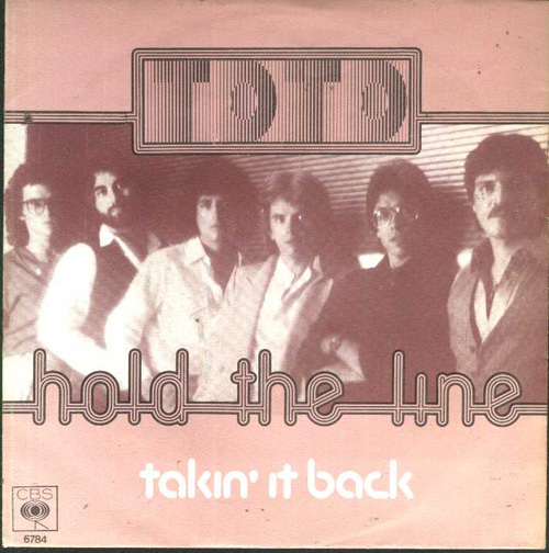 Toto+ +hold+the+line+cover