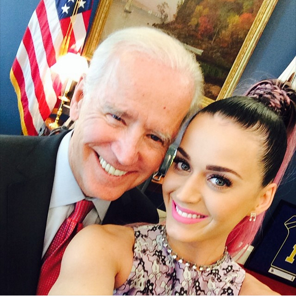 Katy perry joe biden
