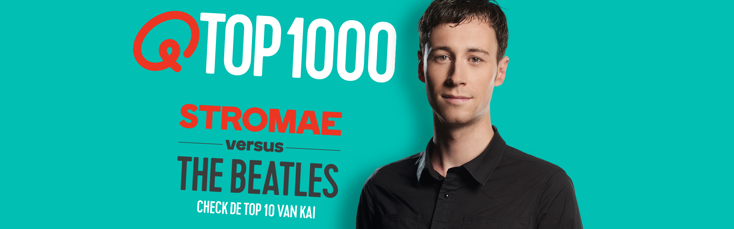 Qmusic actionheader top1000 djs kai