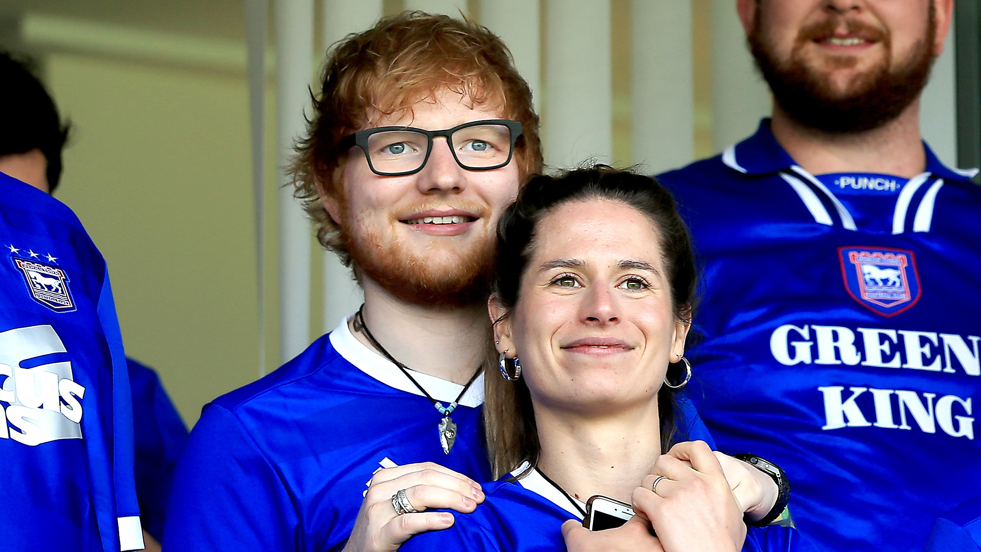 Ed sheeran cherry seaborn married