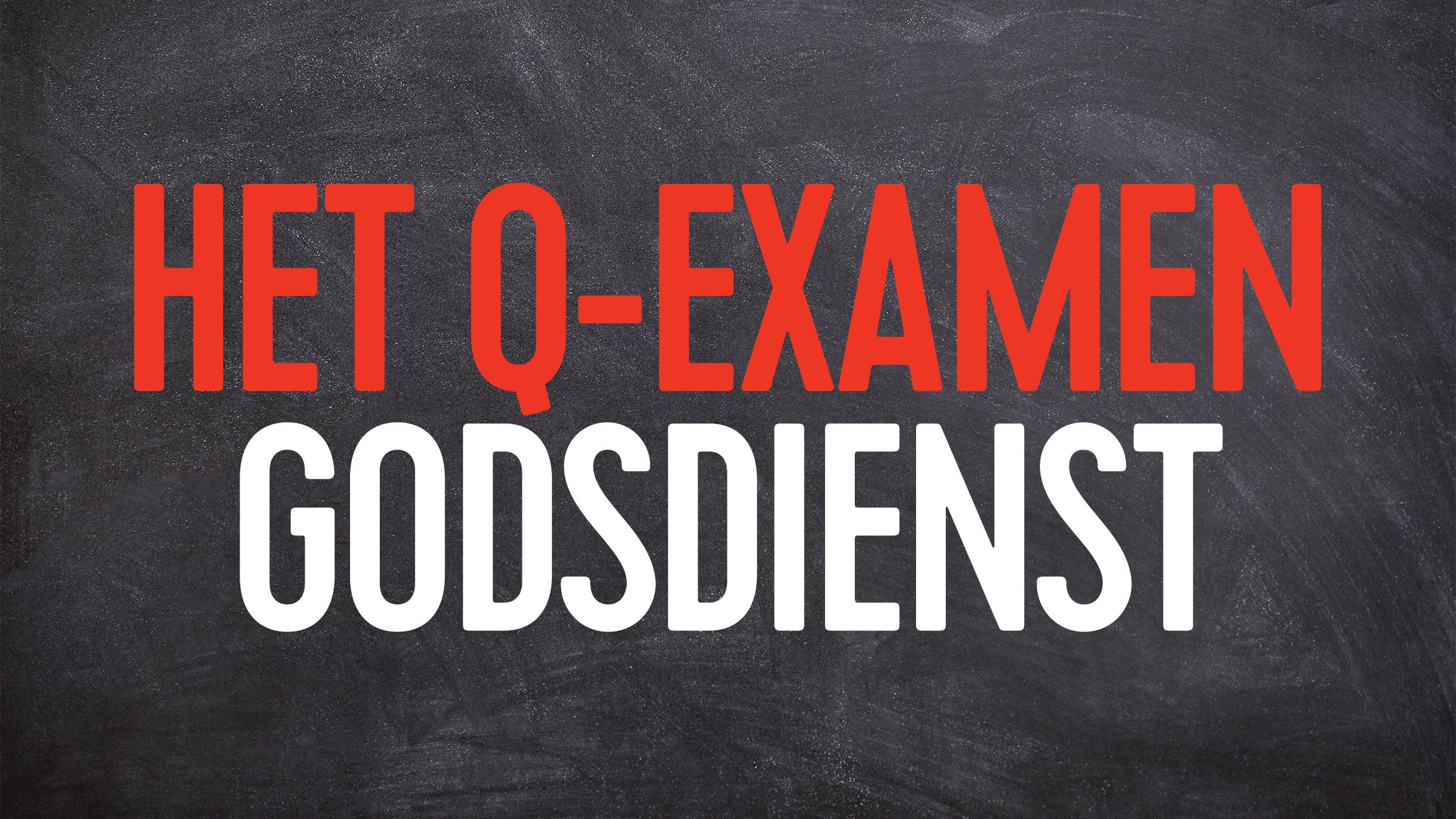 Q examen godsdienst