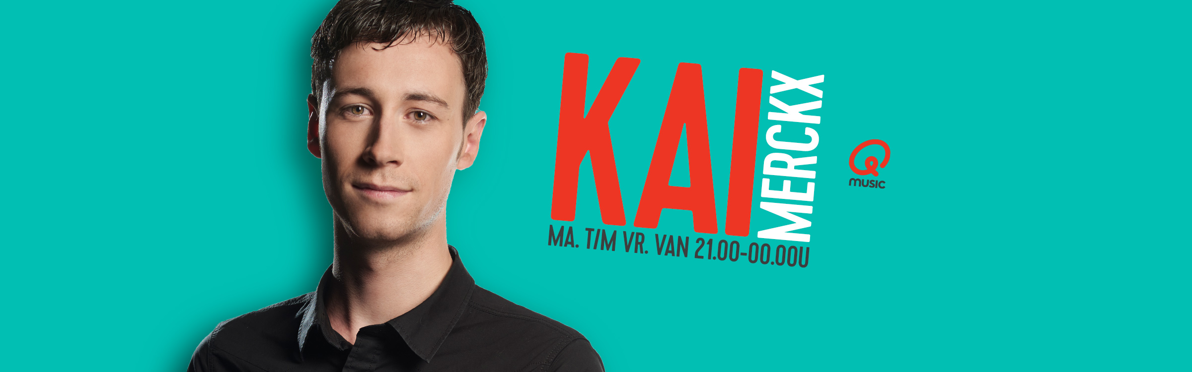 Qmusic actionheader djs kai