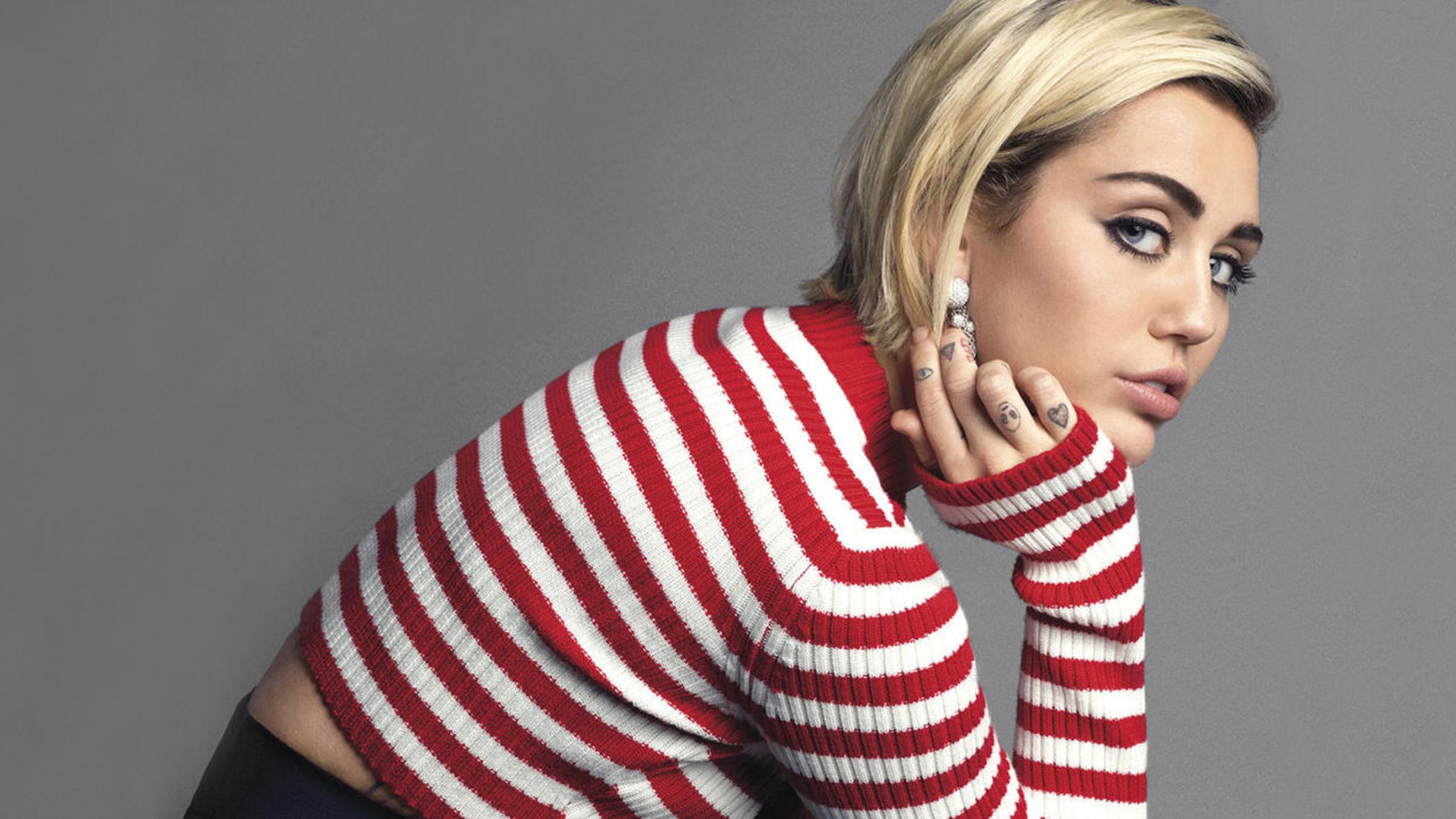 Miley meisje teaser