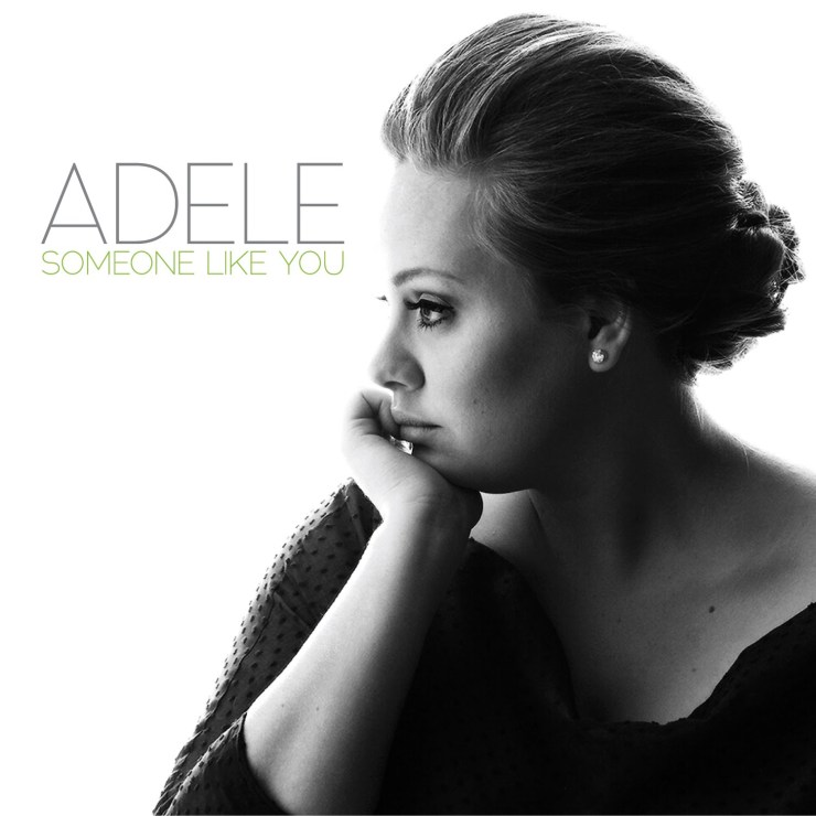 Adele someone like you album cover