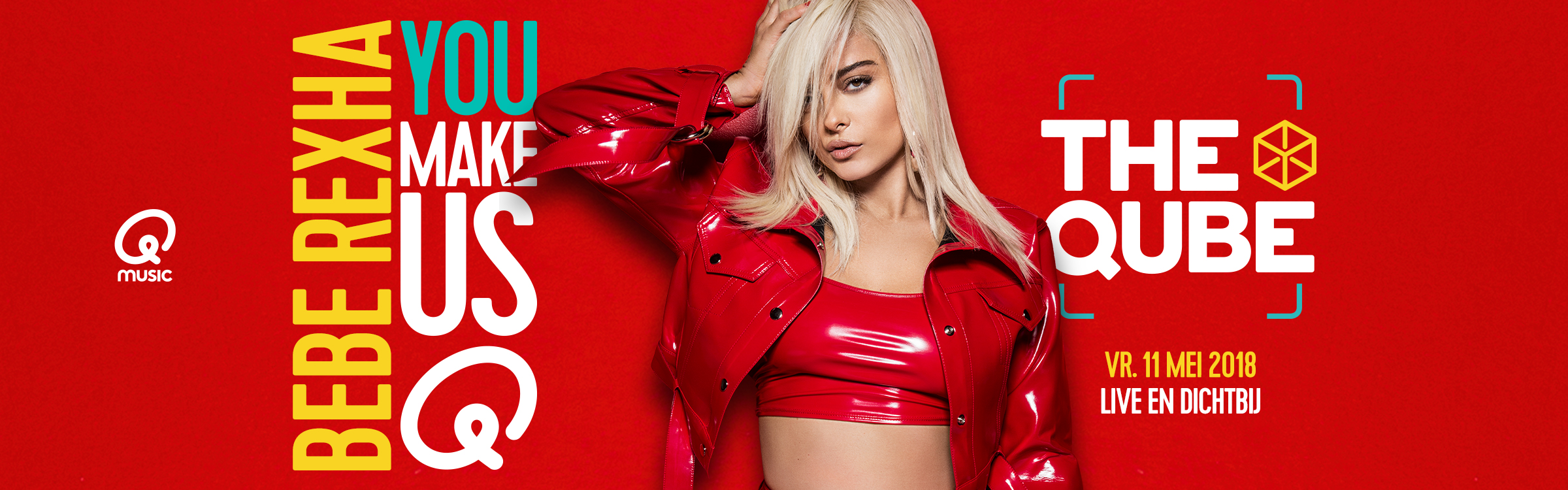 Qmusic actionheader beberexha