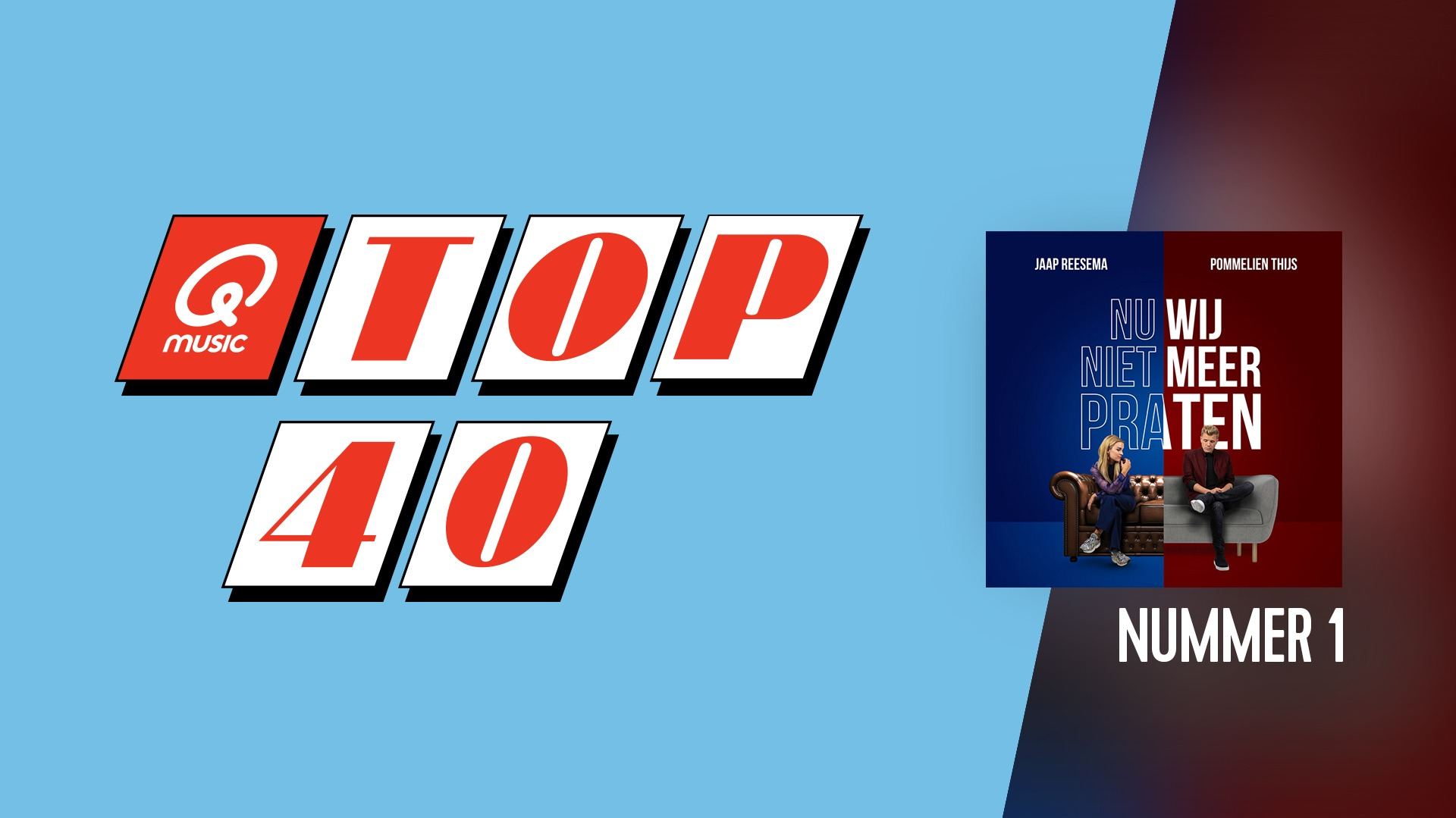 Top40 website header