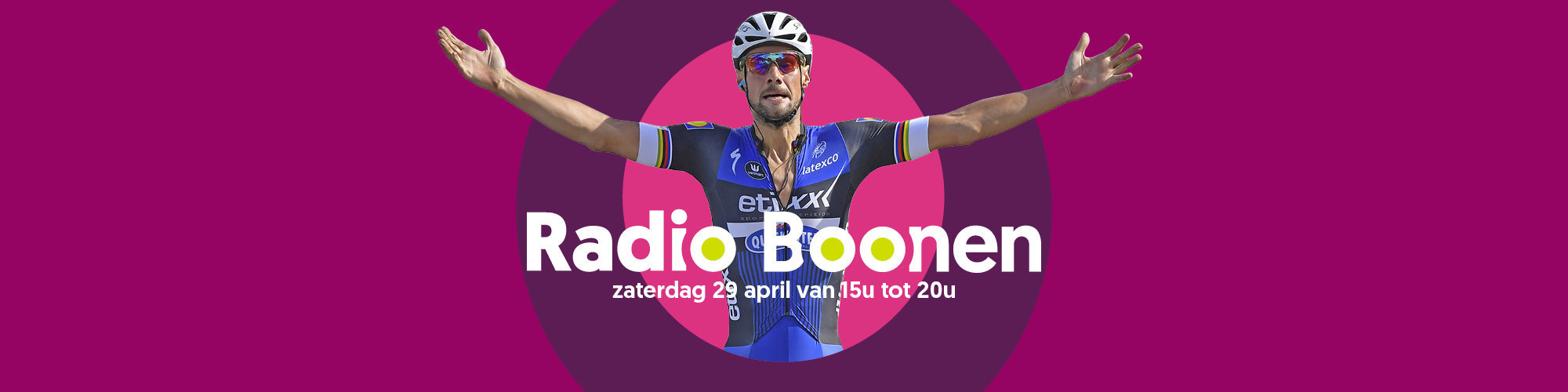 Radioboonen header