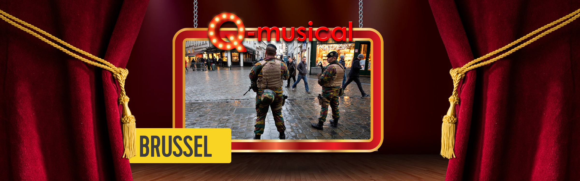 Q musical site header brussel