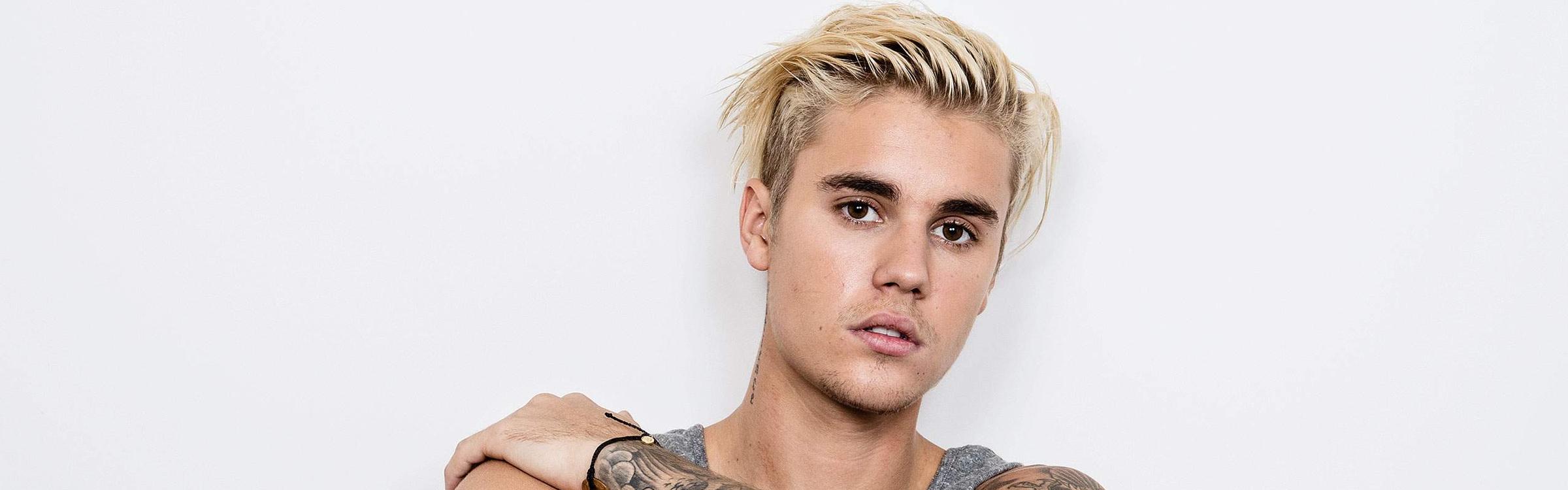 Justin forever21 header