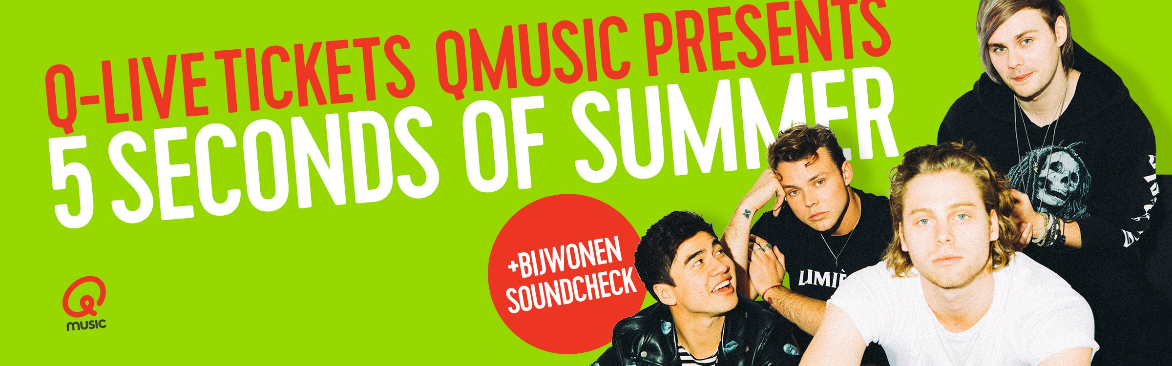 Qmusic actionheader 5sos 2