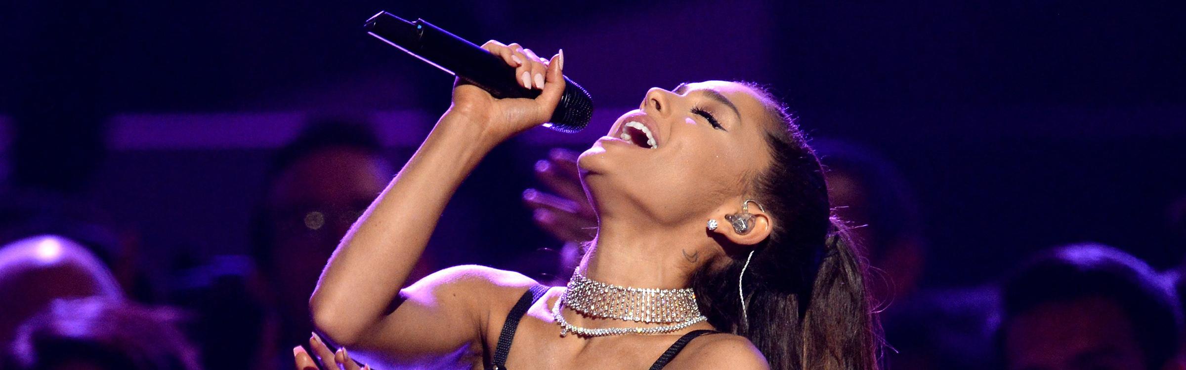 Ariana grande header
