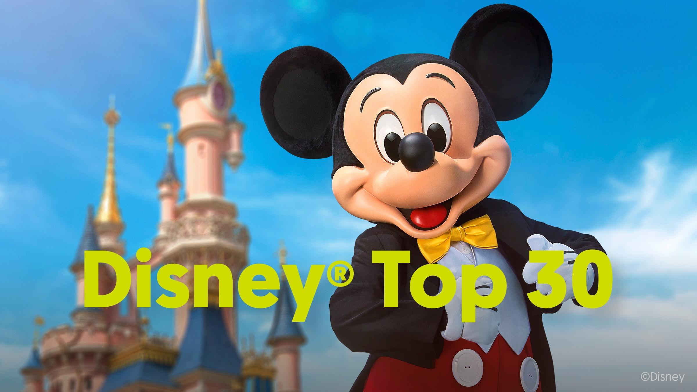 Disney top 30   aankondiging