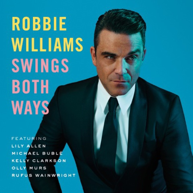 Robbie williams swings both ways album artwork