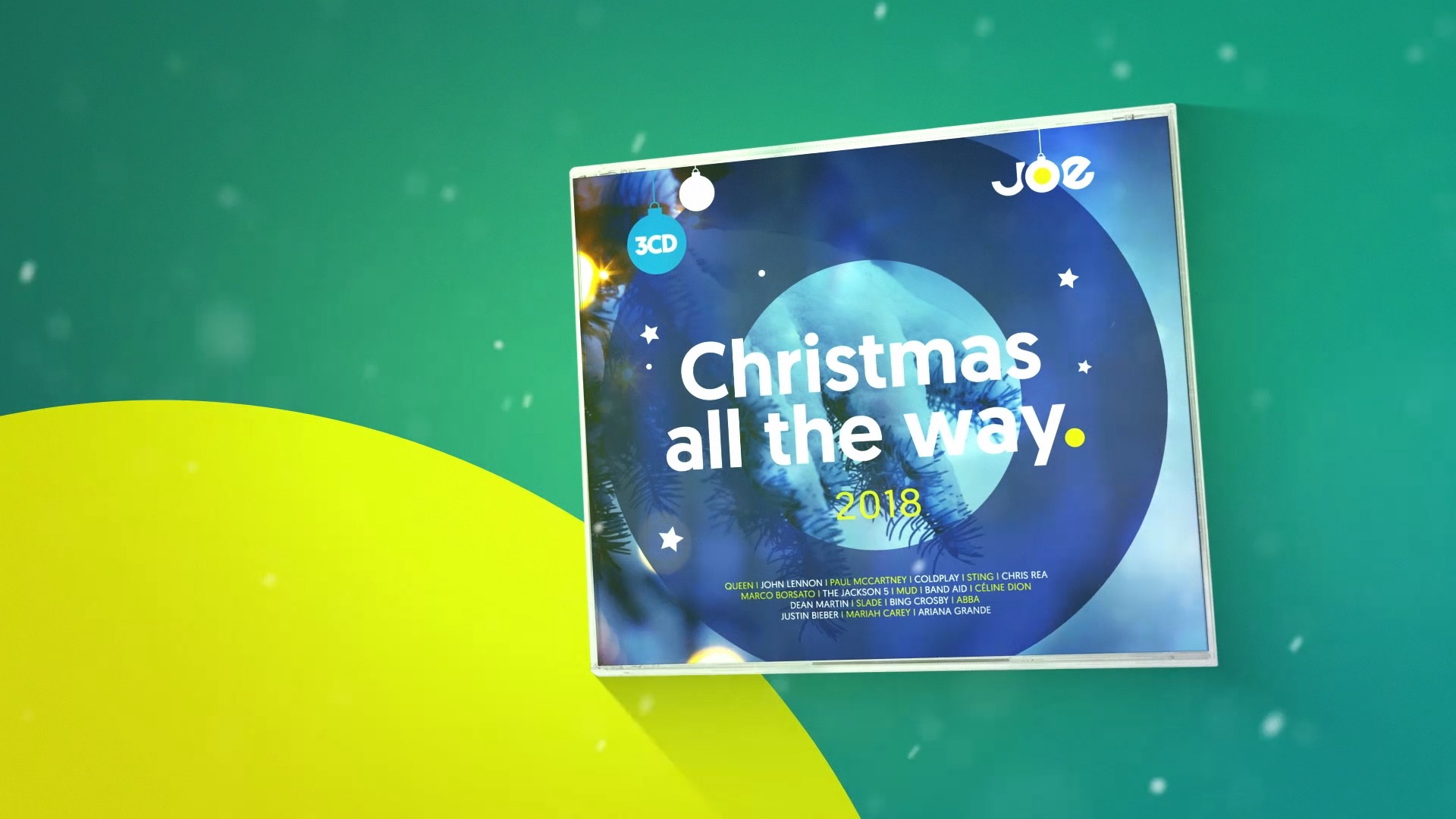Joe christmasalltheway cd