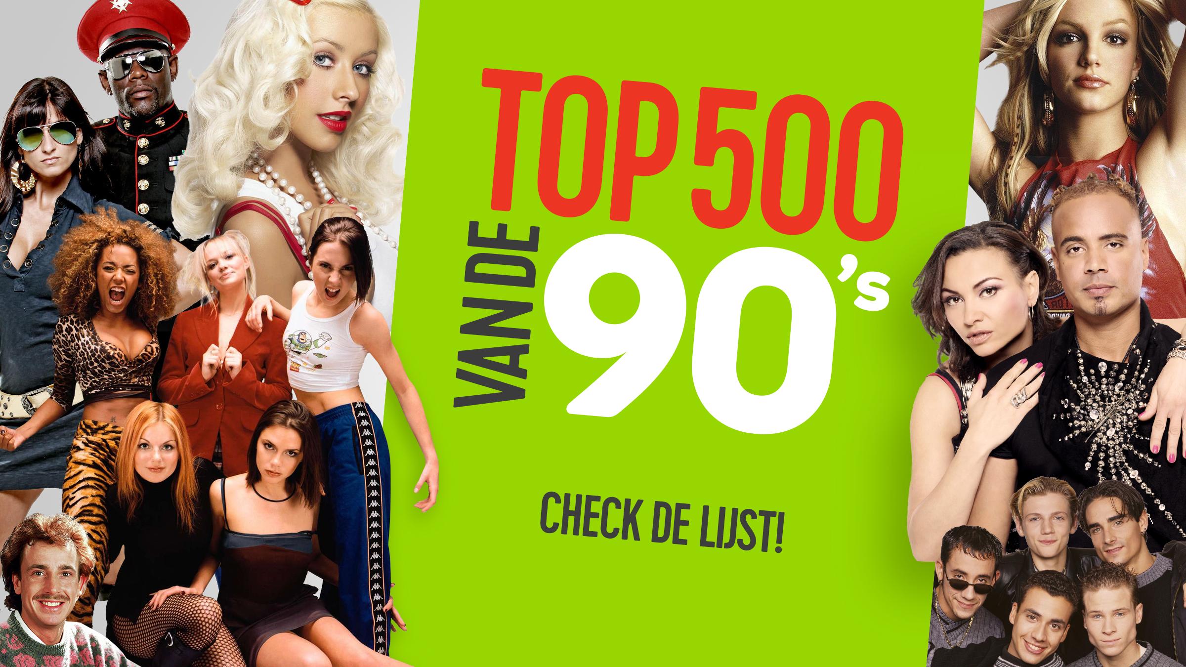 Qmusic teaser top500 90s check de lijst