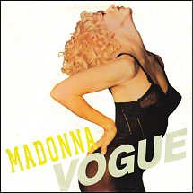 Madonna vogue single version sire 2 s