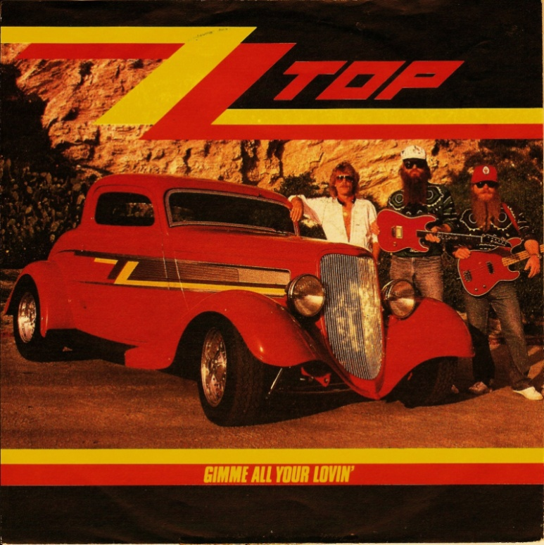Zz top gimme all your lovin warner bros 6