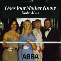 Abba does your mother know polydor 3 s