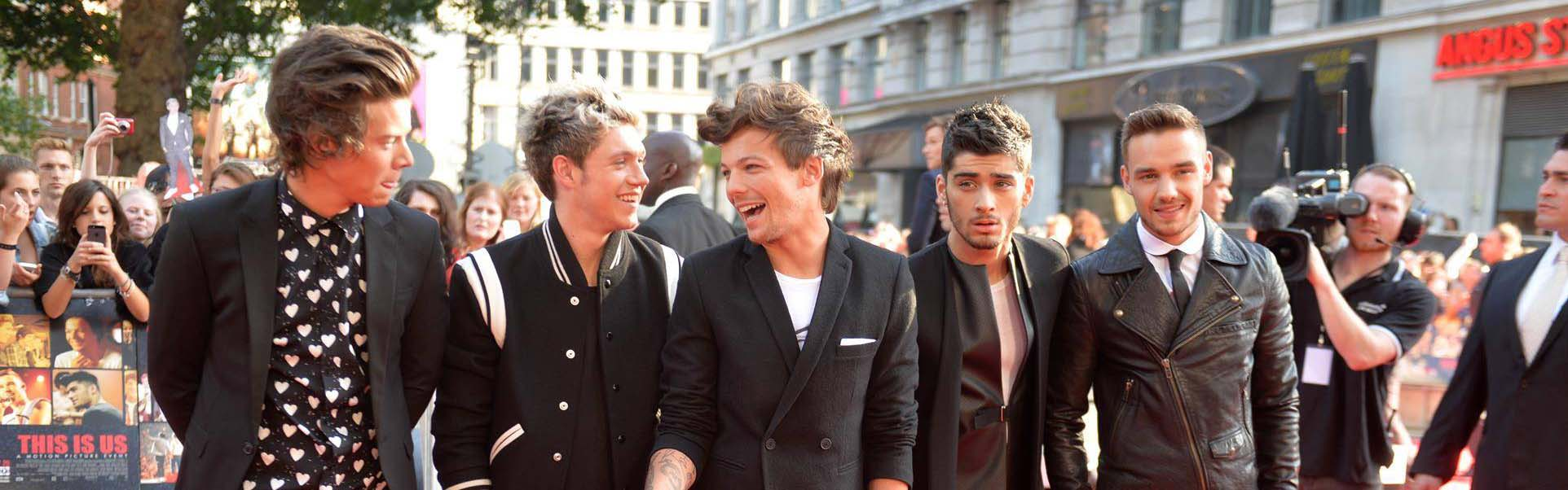 One direction header