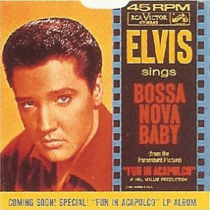 Elvis presley bossa nova baby single cover