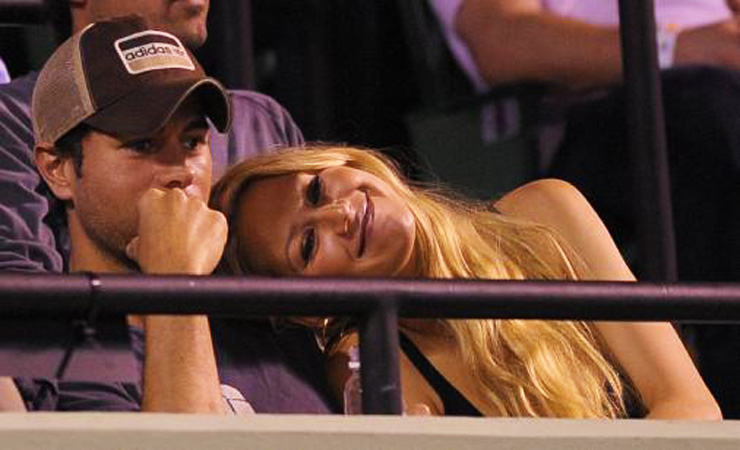 Anna kournikova and enrique iglesias still together