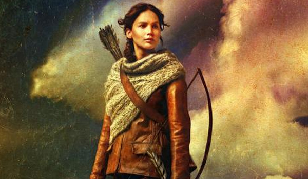 The hunger games catching fire new katniss poster