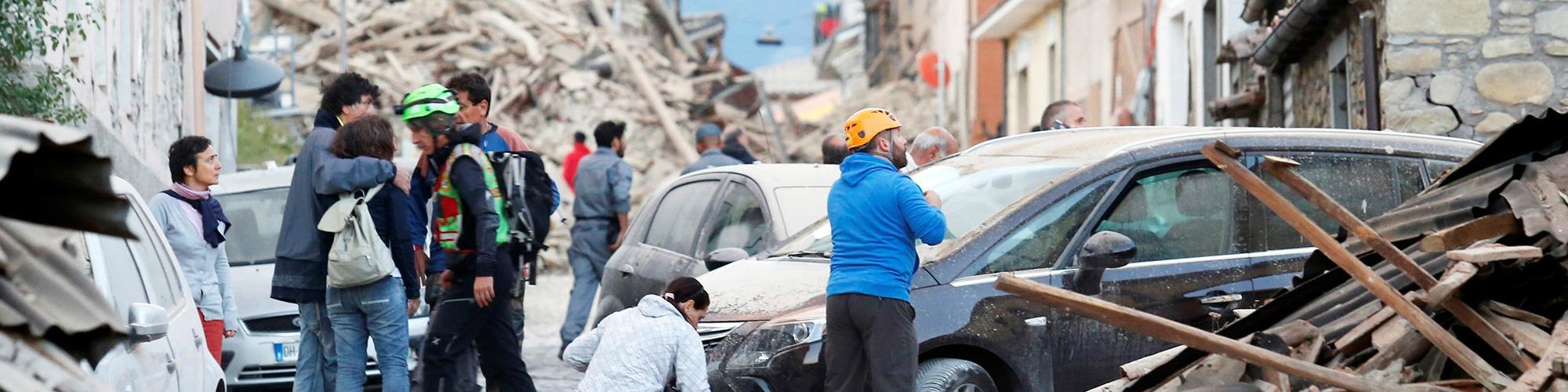Aardbeving italie header