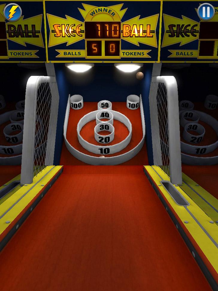 Skee ball 2 itunes app freeappsdotws freeappskingdotcom gameplay