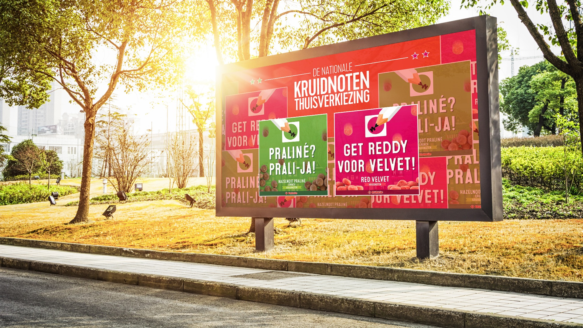 Billboard bolletje