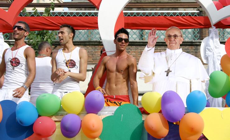 Paus gaypride