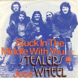 Stealers wheel stuck in the middle with you s