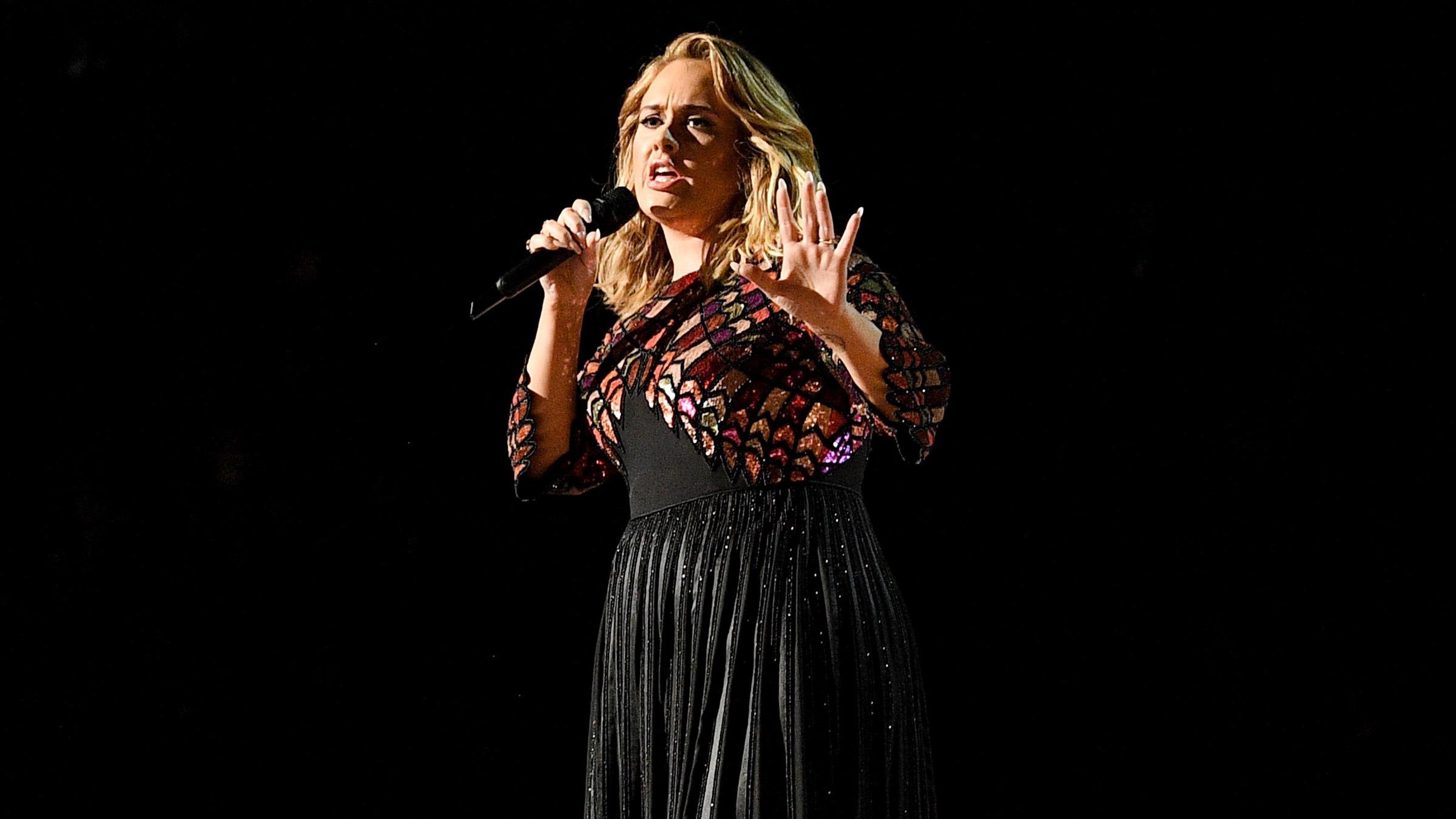 Adele teaserfotoo