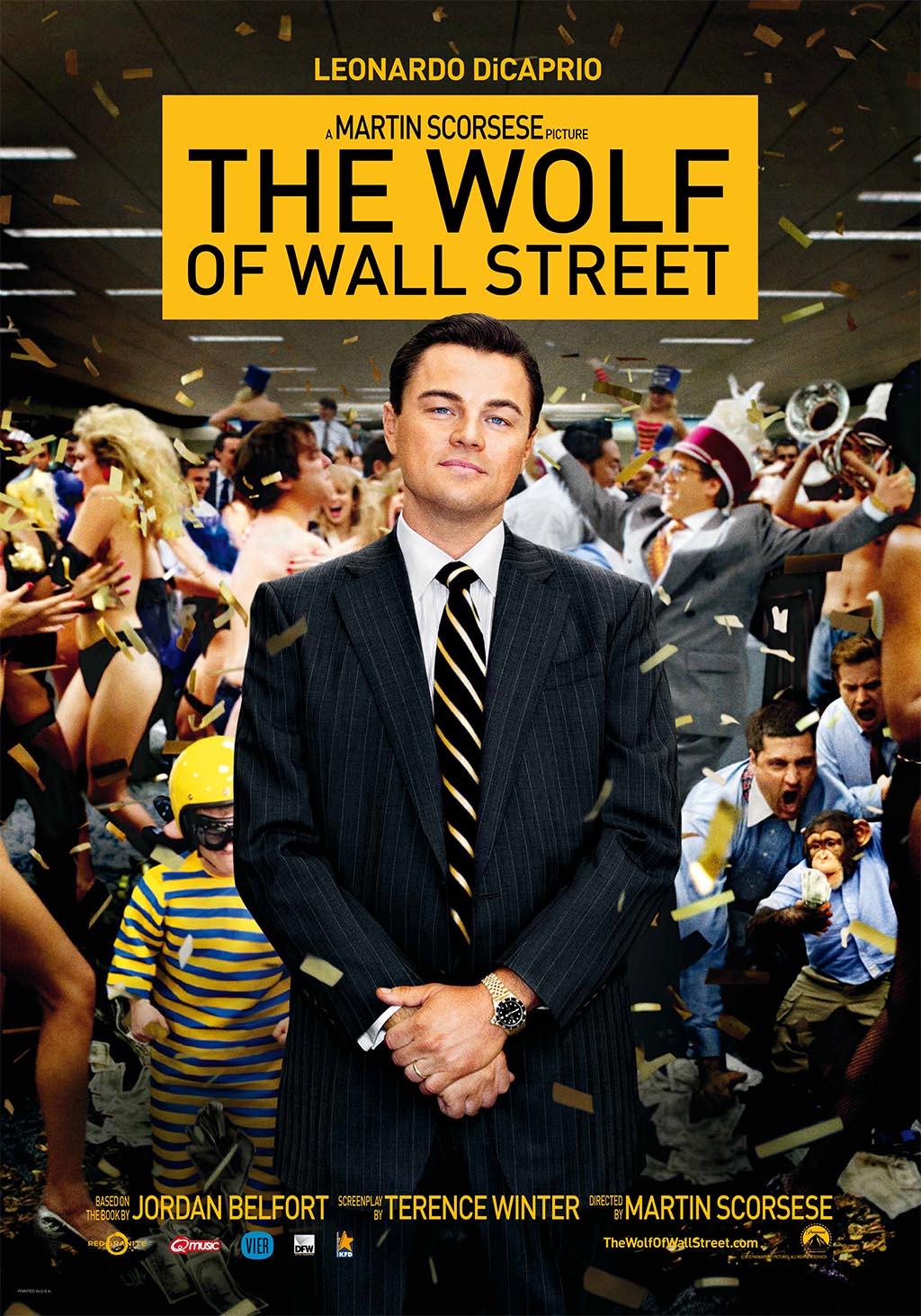 Affiche wolf of wall street ov lr