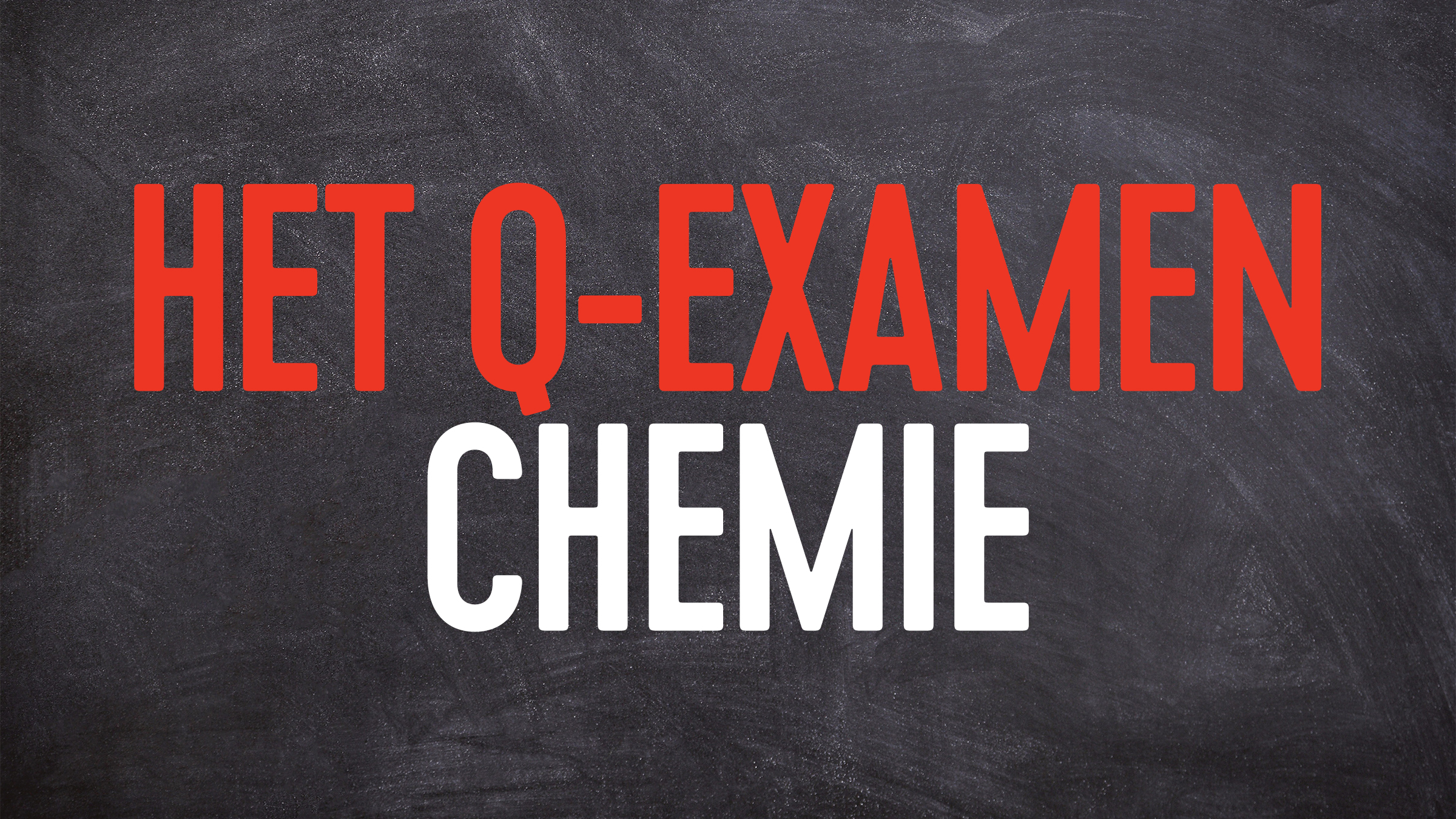 Q examen chemie