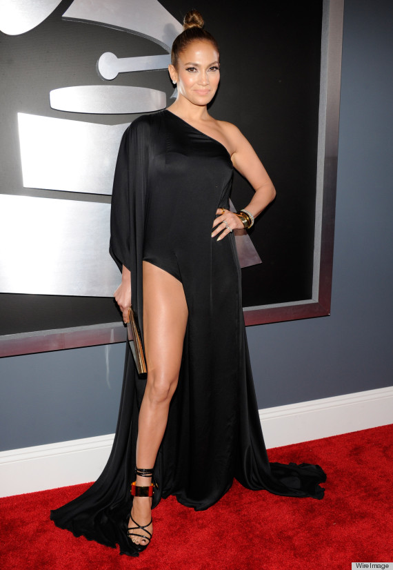 O jennifer lopez grammys dress 2013 570