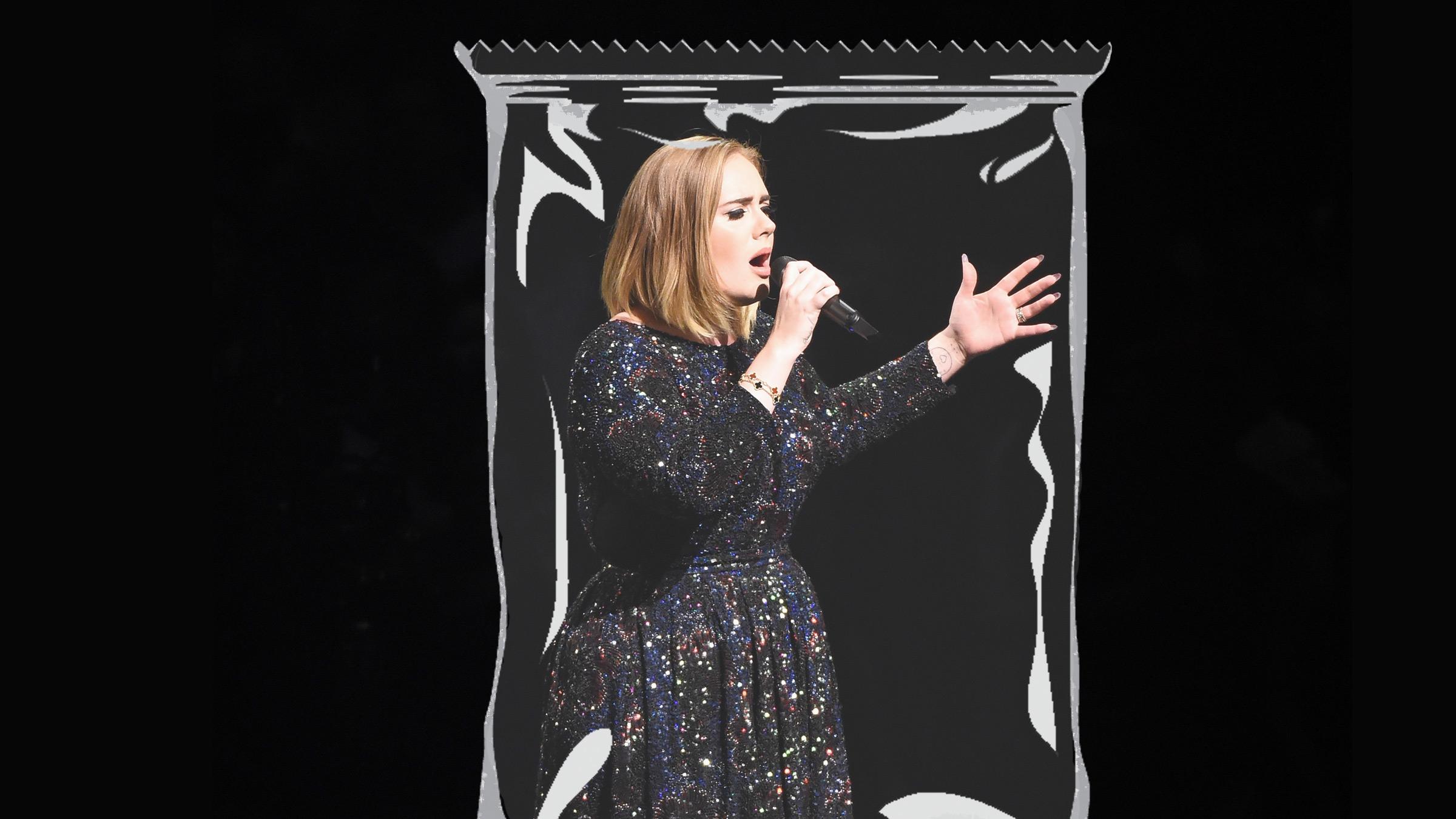Adele zakje teaser