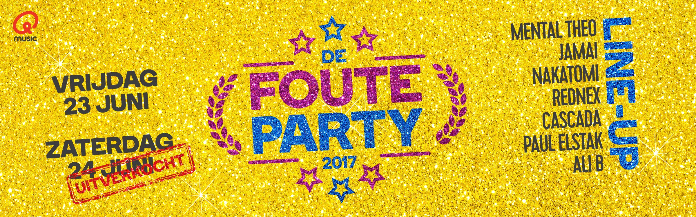 Qmusic actionheader fouteparty2017 za uitver