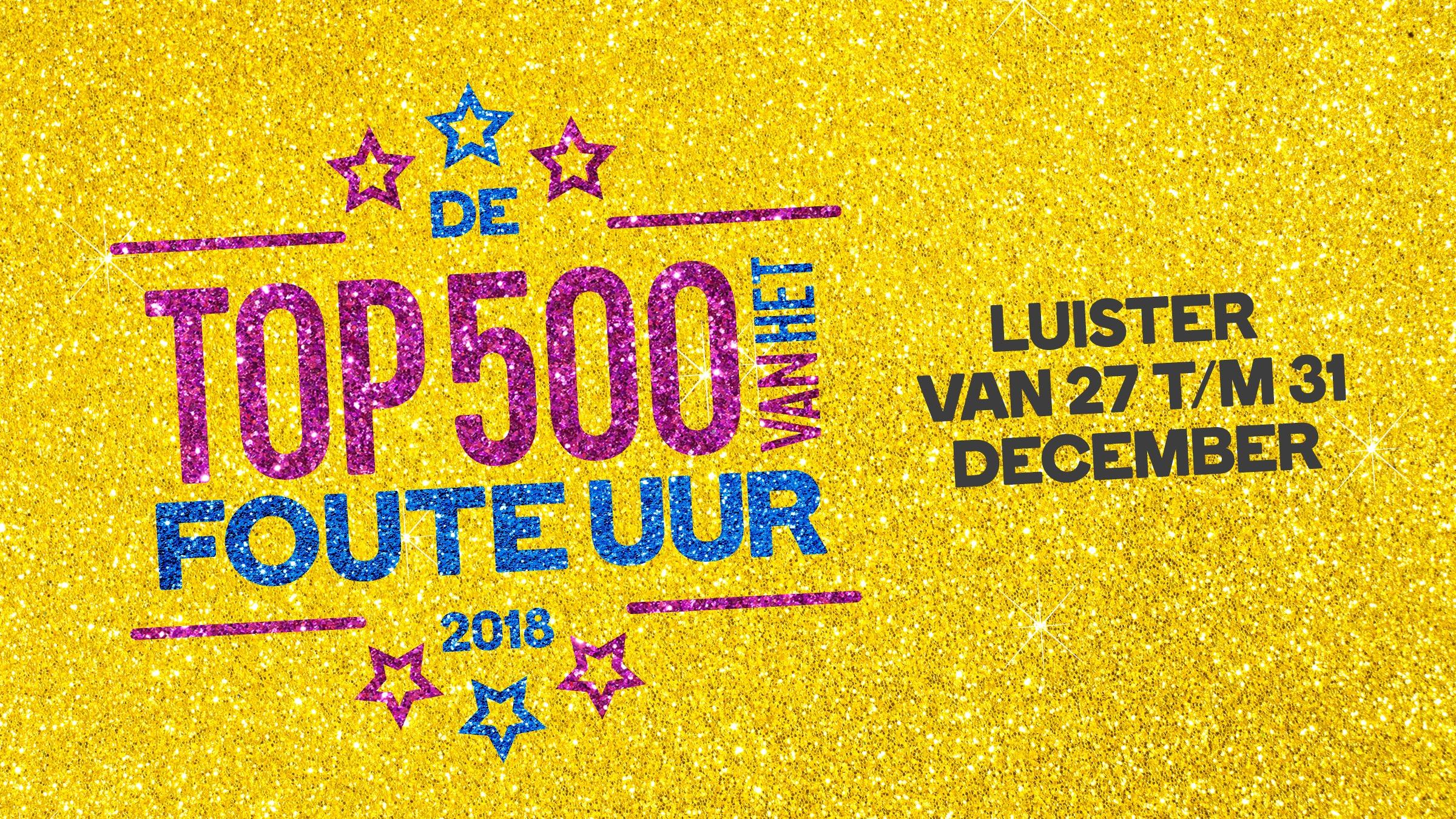 Qmusic teaser top500fout 2018 dec