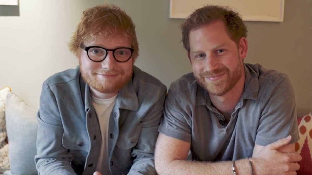 Prince harry ed sheeran t