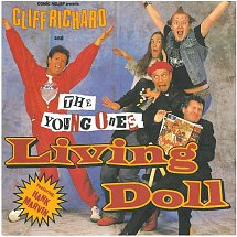 Cliff richard and the young ones featuring hank marvin living doll wea 2 s