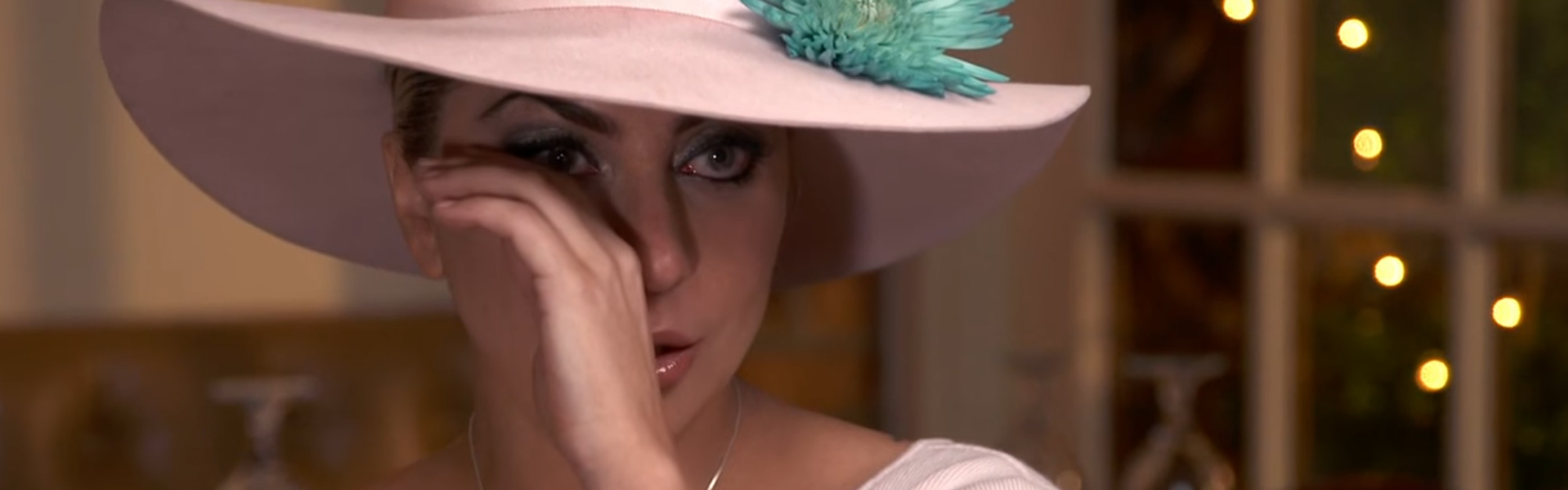 Lady gaga emotional header