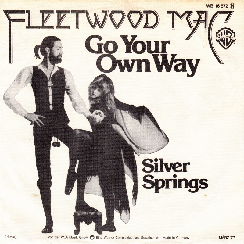 Fleetwood mac go your own way warner bros 3