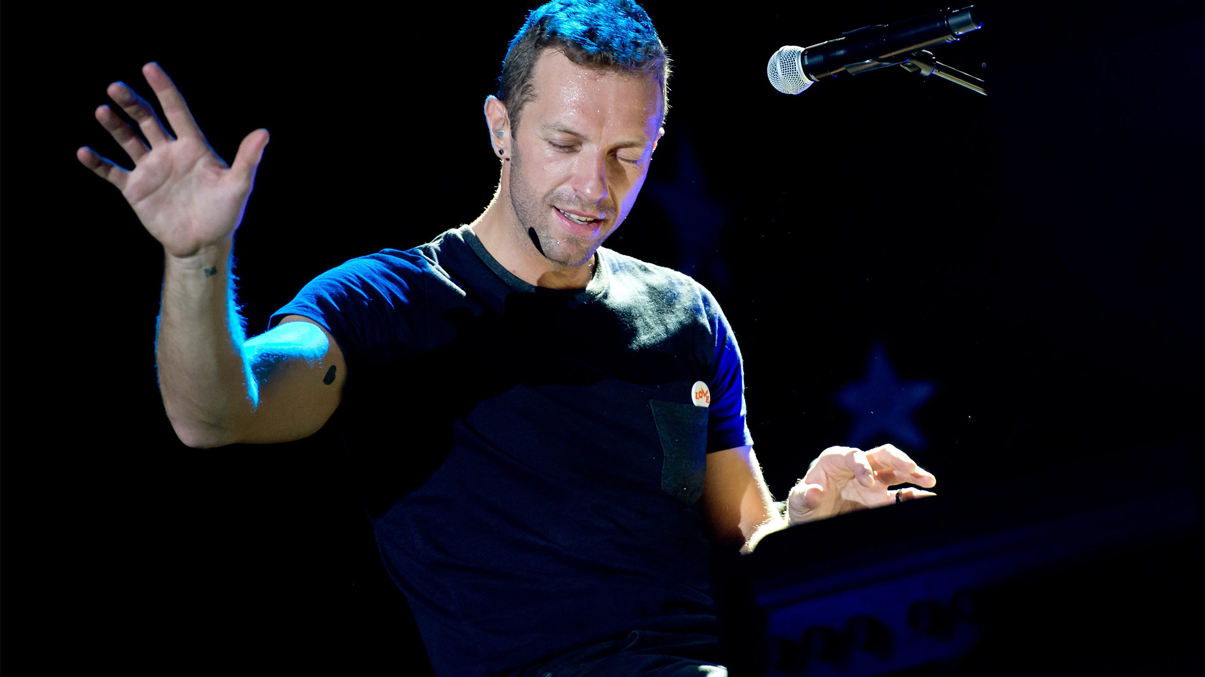 Chris martin tease